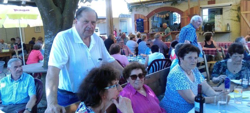 Sommerfest der OG St. Georgen im Lavanttal mit Obfrau Johanna Köstinger