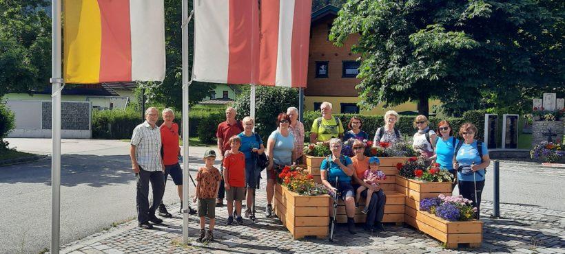 Wanderung vom Gemeindeamt Gnesau zur Danielhütte nächst KNITTEL-BERG
